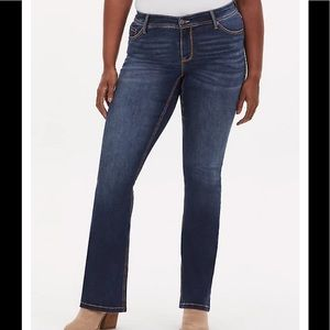 NWT Luxe stretch slim boot cut jeans